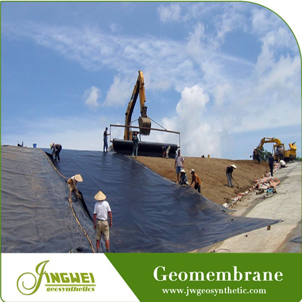 resistant chemical geomembrane agriculture fish pond equipment