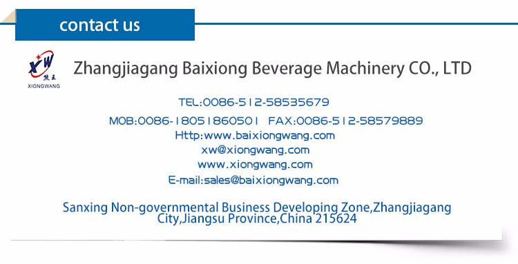 2017 New Technology 3In1 Soft Drink Filling Machine