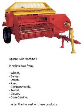 Square Bale Machine