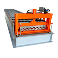 China alibabab express advanced corrugated wave sheet metal 750 roof panel roll forming machine