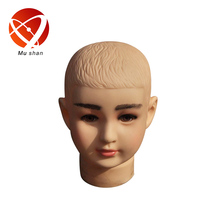 kids head mannequin for hat or wig