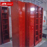 Factory Direct Wholesale changing room 6 door cheap gym metal locker cabinet hpl compact locker cabinet locker