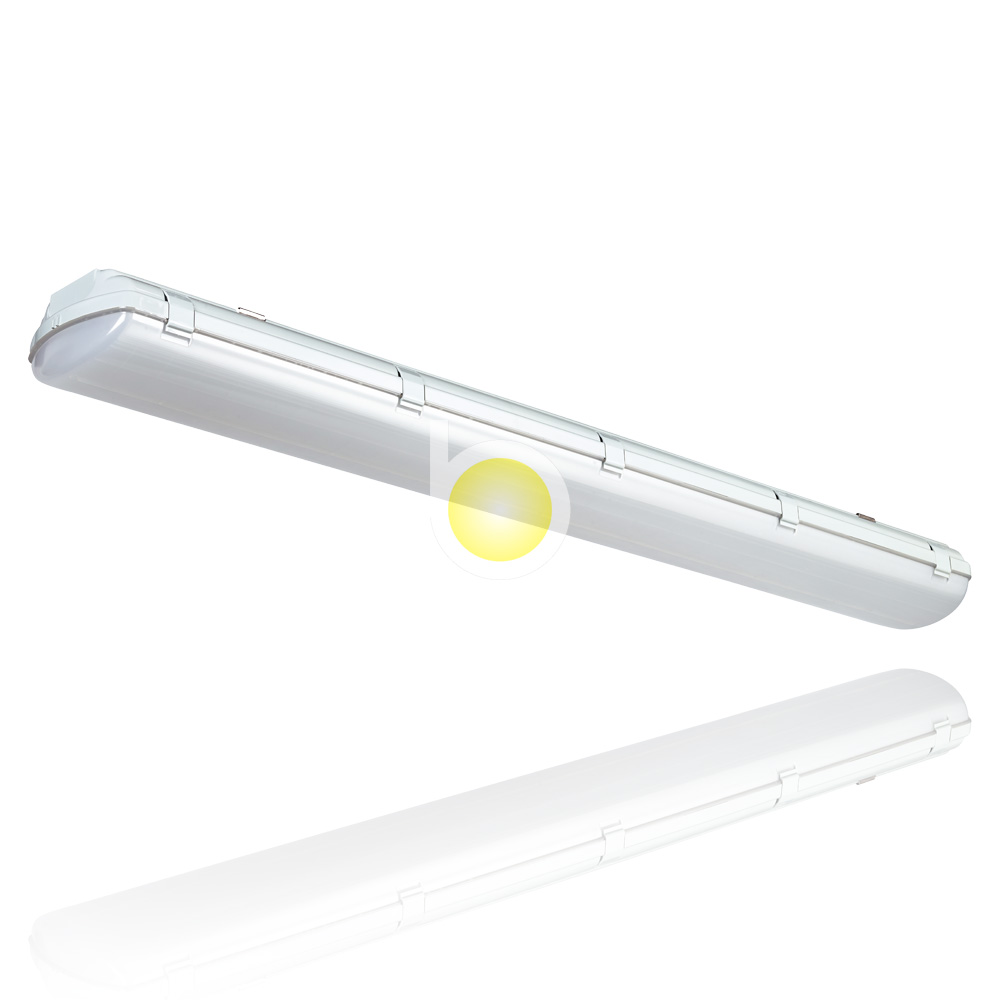 Led Tri-proof Light Ip65 36w T8 Tube Led/fluorescent Waterproof Lamp Fixture
