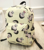 2017 Canvas Schoolbag Kid Backpack with Chibi Maruko Print