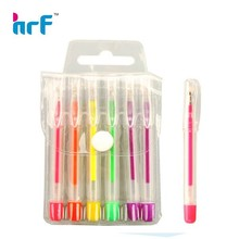 2013 Mini fluorescen color gel pen set