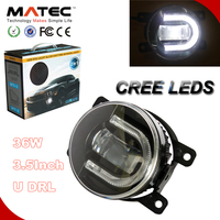 top quality 3.5Inch car led fog light 36w led auto daytime running lights for kiia sorento