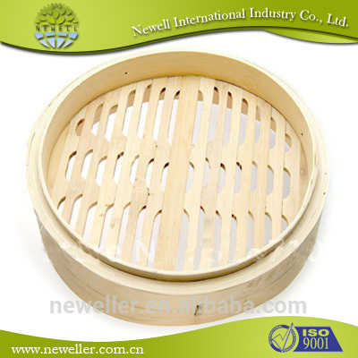 Good Quality commercial bamboo steamer set For Korea mart