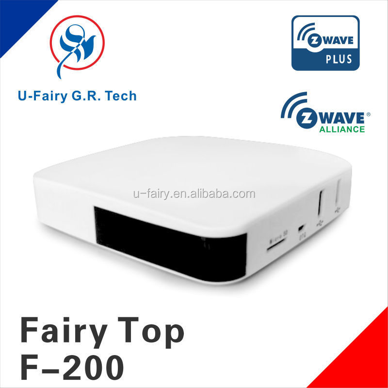 Convenient smart products for home 5th Generation chip z-wave gateway selling well all over the word