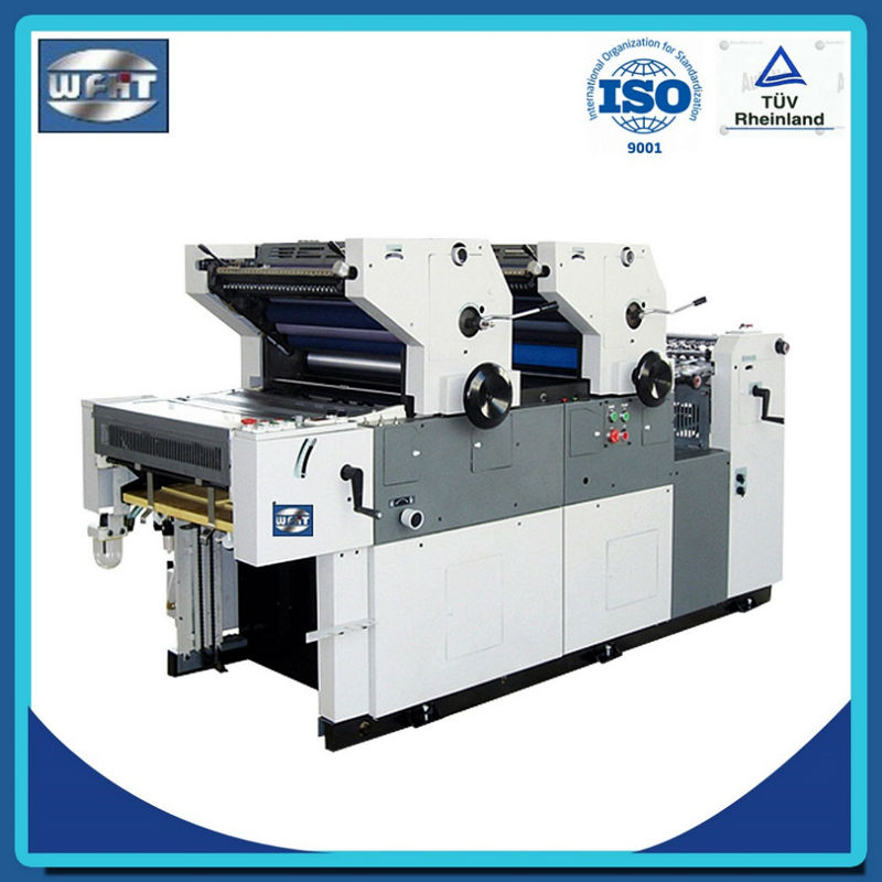 HT262II paper/non-woven bag a2 printing press, 2 color offset printing machine