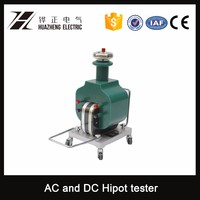 high voltage AC-DC SF6 single phase testing transformer