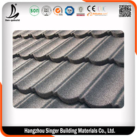 Cheap Building Material Big Size 0.4 mm Thickness Roofing Tiles