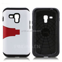 Hot seller fashion TPU & PC hybrid armor case for Samsung Galaxy Note 3 Neo N7505 with kickstand