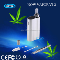 Smallest handheld vaporizer in the world Now Vapor V1.2 heavy smoke electronic cigarette with only 82mm long