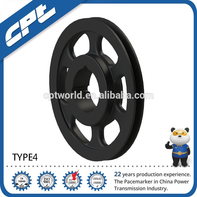 Factory wholesale SPB-01 metal oem v-belt pulley