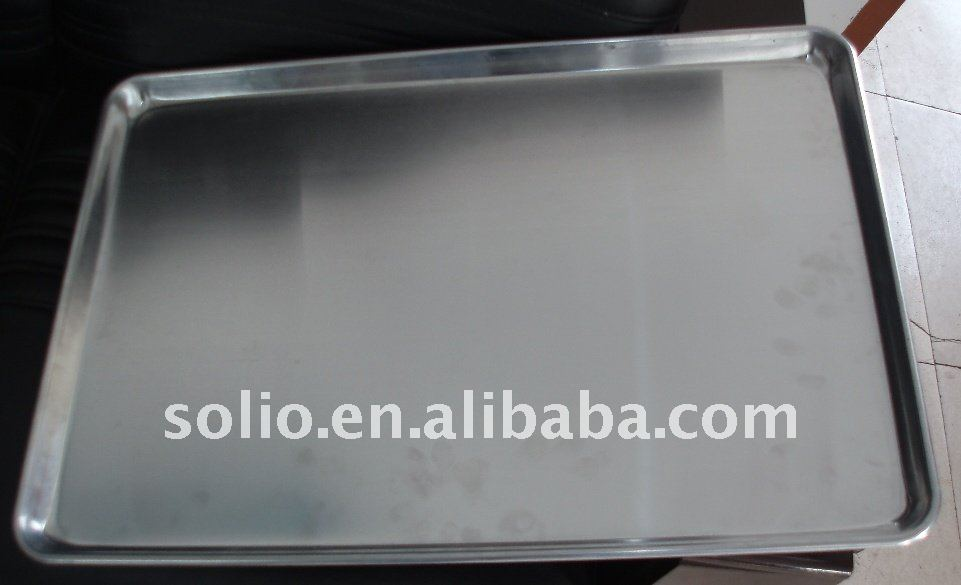 industrial used aluminium baking trays