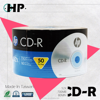 Blank CD-R 52X 700MB for brand HP product of Taiwan quality guarantee