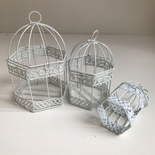 Factory OEM !!! Custom-made High-end Quality Iron Basket Pets Cages Wholesale Iron Cages