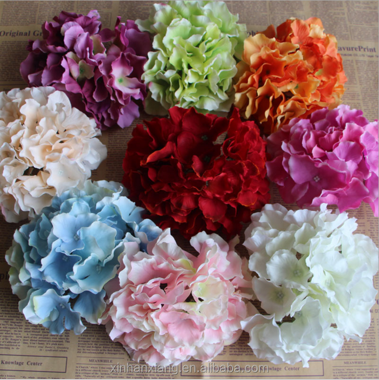 artificial <strong>flower</strong> wholesale large hydrangea <strong>flower</strong> diy artificial plant wall European wedding fake <strong>flower</strong>