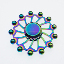 wholesales titanium spinner top spinner toy spinner rainbow