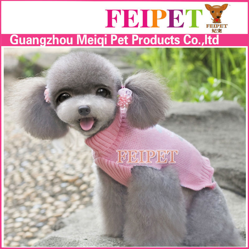 Dog coat wholesale cotton acrylic dog sweater