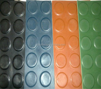 8mm outdoor natural playground rubber sheet