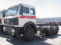 Beiben 420hp container transport truck head 2642 6x4 tractor truck 10 wheel prime mover for sale