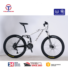 aluminium hydraulic disc brake 27 speed 26 inch full suspension china trinx mountain bike