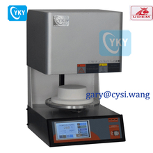 CYKY Factory made LCD touch screen porcelain furnace , high quality dental vacuum oven