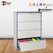 four drawer steel modern office cubicles file cabinet