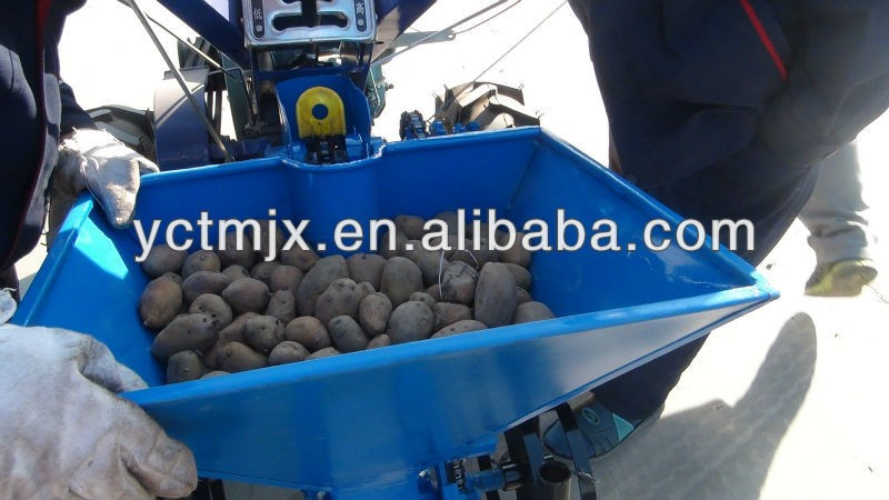 Mini potato  seeder for walking  tractor