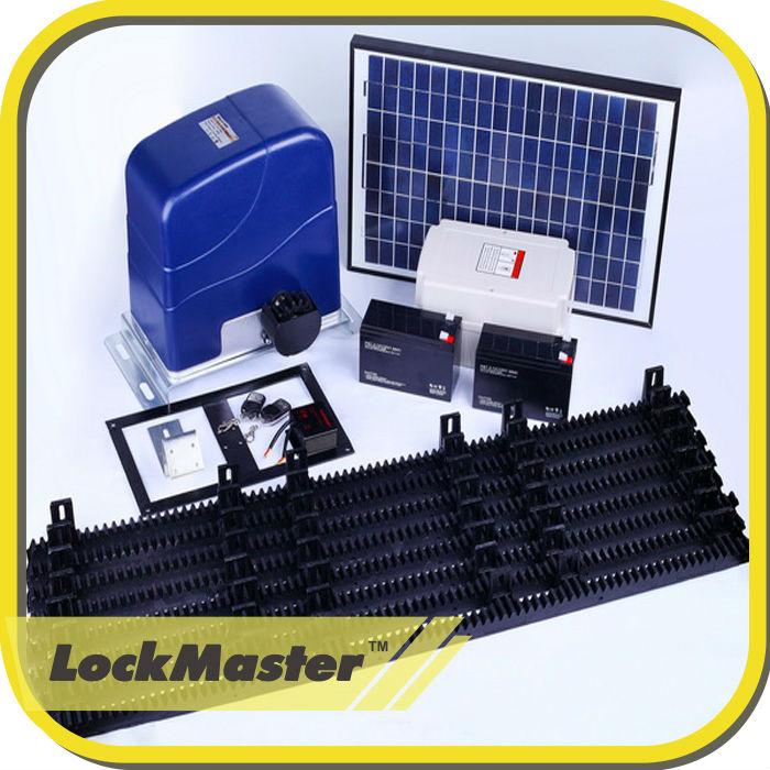 Most Popular Solar Powered Sliding Gate Motor Operator