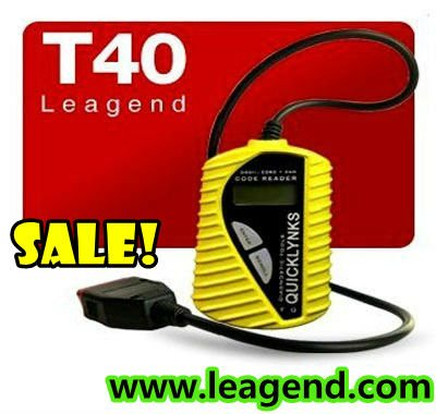 Free update ! EOBD/ OBD2 basic code reader /turn off check engine light tool for Buick T40 in yellow (multilingual )