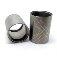 Best price cnc lathe machining high accuracy stainless steel bushing round bushing
