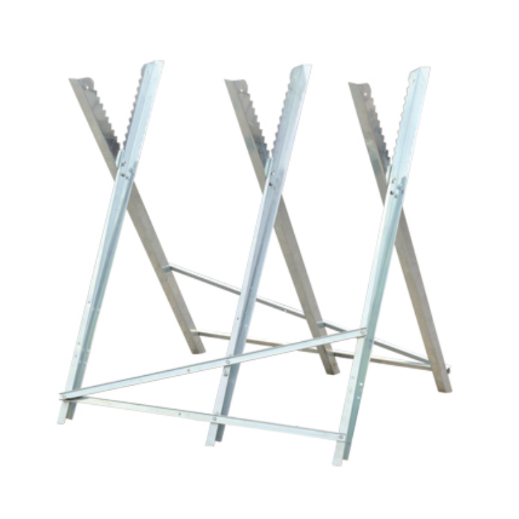Hot Steel Wood Cutting Hand Tools Folding Trestle Galvanised Log Sawhorse