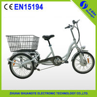 14'' 20'' cargo electric tricycle 3 wheel bike taxi for sale
