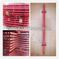 Automatic welding wedge lock/ring-lock scaffolding vertical pipe
