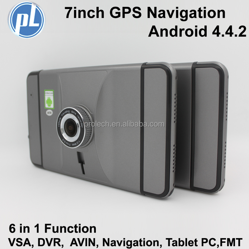 Black Friday Android system 7 inch touch screen Dashcam Car DVR GPS navigation with WIFI