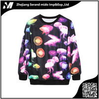 women 3d jellyfish print cheap china wholesale clothing