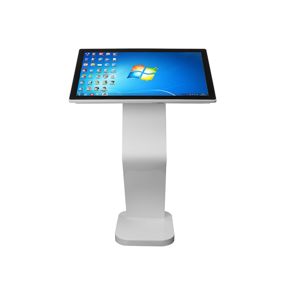 factory direct sale  information interactive kiosk 32 inch capacitive touch screen kiosk core i3-7100 4GB 64GB SSD