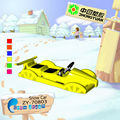 New double kids plastic snow buggy