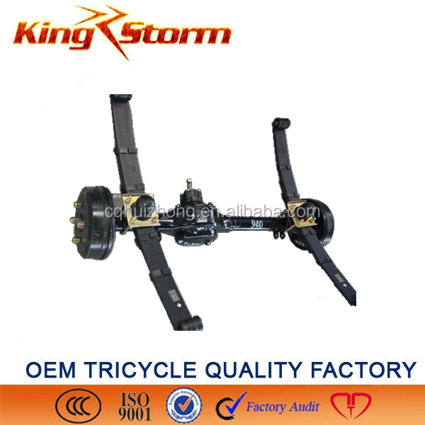 China King-Storm Cargo Motorcycle 180/220drum 4/5 hole three-wheel tricycle toyota corolla rear axle