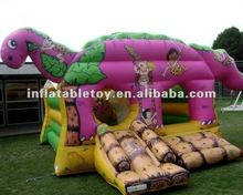 inflatable dinosaur castle bouncer