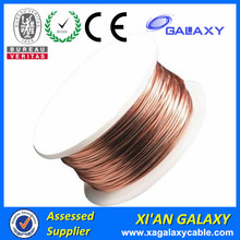 CE approved Class 130 180 200 220 Grade 18 gauge enameled aluminum flat wire ,AIEIW enameled wire