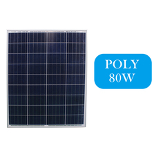 China cheap pv supplier poly 80w solar panels for sale