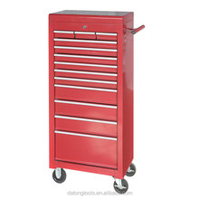 High Quality Trolley Metal Tool Box With Four Wheels