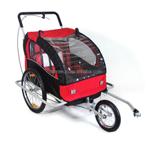 Baby trailer multi-function folding portable baby trailer bike children multi-purpose trailer