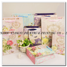 Colorful printing custom craft Paper gift bag