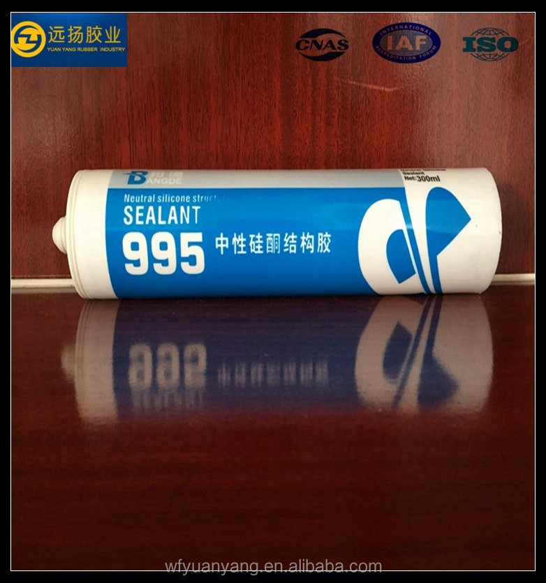 Excellent Fast Curing Adhesive Silicone Sealant Gp Acetic Silicone Sealant