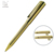 Good quality metal Roller ball pen heavy luxury ball pen with gold barrel