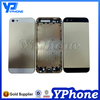 Top quality factory price wholesale for iphone 5S back cover housing